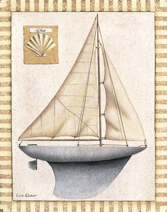Framed Sailboat Print