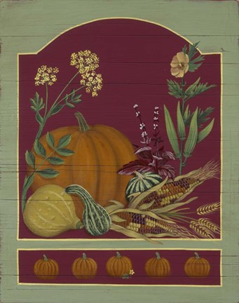 Framed Pumpkin / Autumn Print