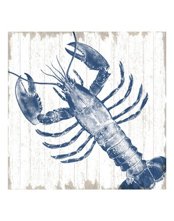 Framed Seaside Lobster Print