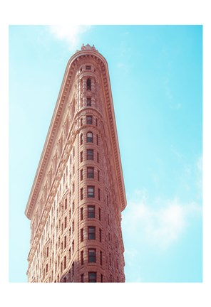 Framed Flat Iron Curves 2 Print