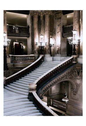 Framed Grand Stairs Print