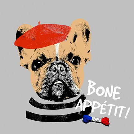 Framed Bone Appetit Print