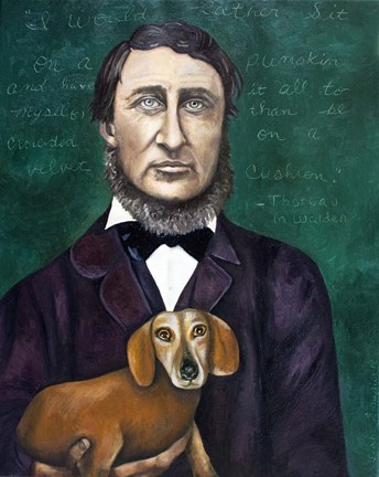 Framed Thoreau Print