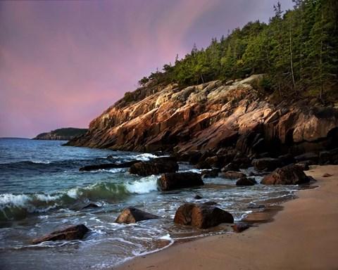 Acadia Magic Fine Art Print By Natalie Mikaels At