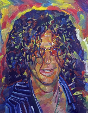 Framed Howard Stern Print