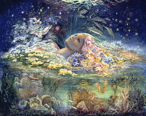 Josephine Wall Aphrodite Goddess Of Love