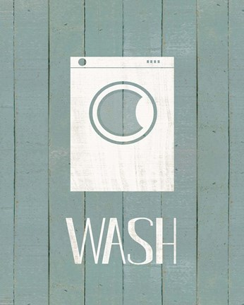 Framed Wash House Wash Print