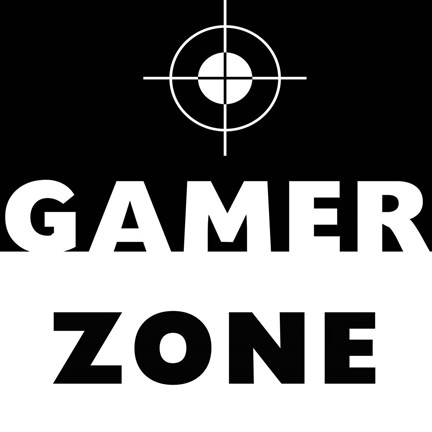 Framed Gamer Zone Print