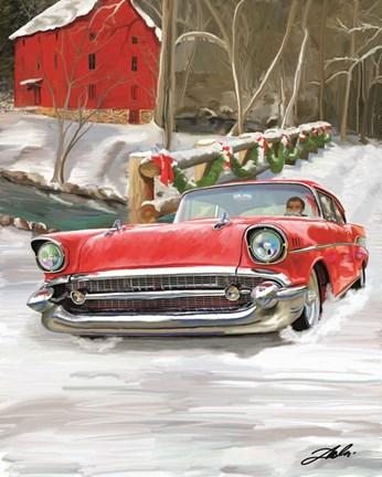 57 chevy christmas fine art print by tim dardis at fulcrumgallery com