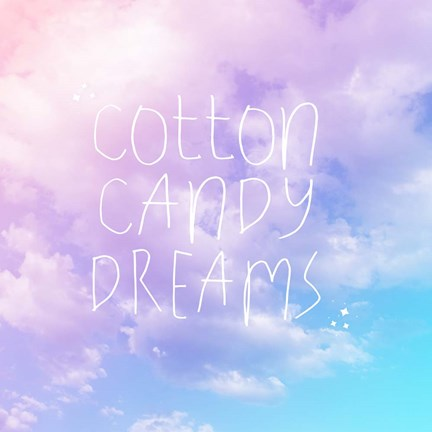 Framed Cotton Candy Dreams Print