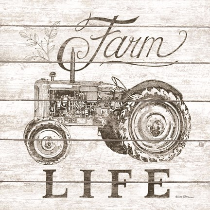 Framed Farm Life Print