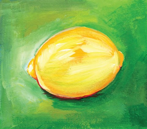 Framed Lemon Print
