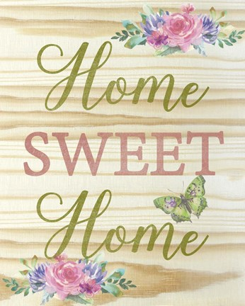 Home Sweet Home Fine Art Print by Jean Plout at ...
