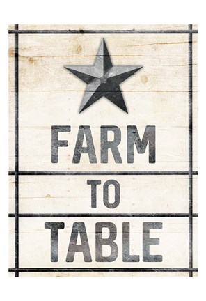 Framed Star Farm Print