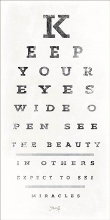 photo about Eye Chart Printable identified as Marla Rae Eye Chart II