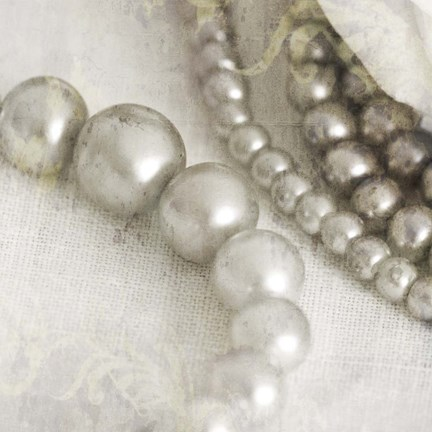 Framed Antique Pearls 2 Print