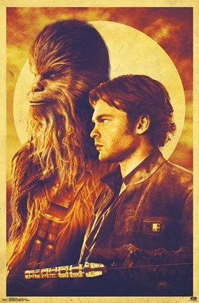 Framed Han Solo - Duo Print