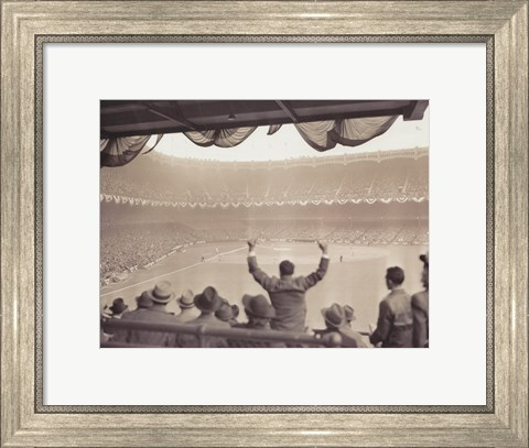 Framed Home Run  1939 World Series Print