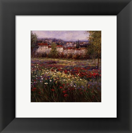 Framed Tuscan Pleasures II Print