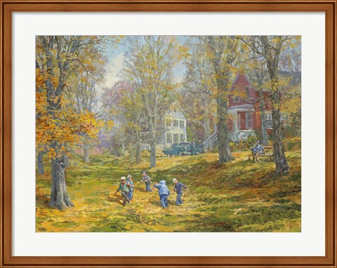 Framed Autumn Dance - Kids Ability Print