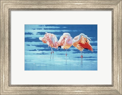 Framed Early Summer Breeze Print