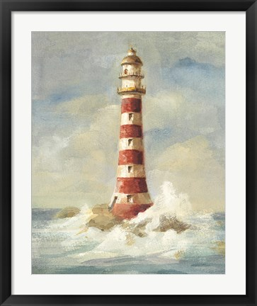 Framed Lighthouse II Print