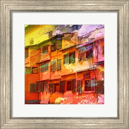 Framed Architectural Color 1 Print